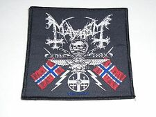 MAYHEM COAT OF ARMS WOVEN PATCH