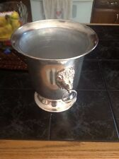 Sheffield Silver Company Ice Bucket with Lion Handles (No lid)