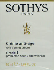Sothys Grade 1 Anti Aging Cream Creme Wrinkles 50ml / 1.69oz NEW** Sale