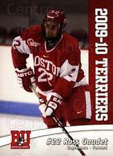 2009-10 Boston University Terriers #20 Ross Gaudet