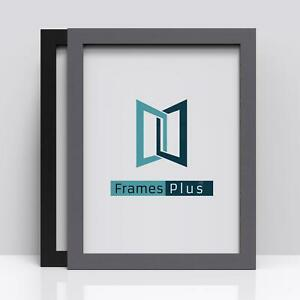 BLACK Picture Frames Square WHITE Photo Modern Poster Frame A1 A2 A3 A4 A5