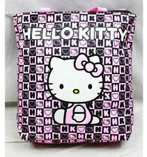 Hello Kitty Dice Tote/Shopping Bag Black/Pink New for Kids Girls by Sanrio