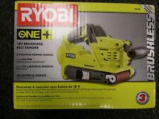 Ryobi P450 18-Volt ONE+ Cordless Brushless Motor Belt Sander, heavy-duty sanding