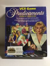 1986 Mattel Predicaments VCR Game TV Soap Opera Hosted by Joan Rivers Complete!