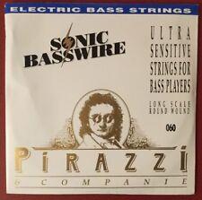 Bass Pirastro Pirazzi E-Guitar Sonic BassWire D 2nd Saite Long Scale Round Wound