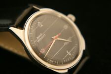 Men's 1970's, ORIGINAL DIAL, serviced HMT, Nishat 17 jewel military wristwatch
