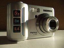 Samsung Digimax S500 5.1MP Digital Camera - Silver