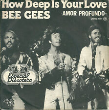"Bee Gees - How deep is your love (7"") 1977 Espagne - Spain"