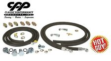 STEERING HOSE HOOKUP KIT WITH FITTINGS FOR HYDROBOOST POWER BRAKE BOOSTER 6FT