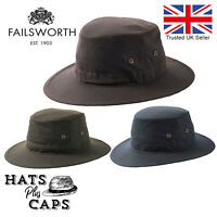 FAILSWORTH PATCH HAT Scottish Trilby Fedora 100/% Wool Country Cap MADE IN UK New