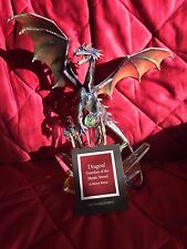 Franklin Mint Michael Whelan Guardian of the Mystic Sword Dragon Figure