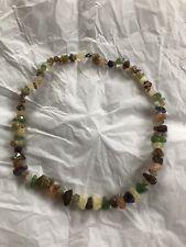 Plastic Rock Necklace