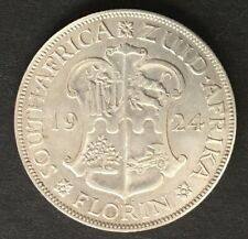 1924 South Africa Silver Two Shilling