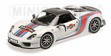 "MINICHAMPS PORSCHE 918 SPYDER WEISSACH PACKAGE ""MARTINI Edition 1:18*New!"
