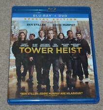 Universal Tower Heist Blu-Ray and DVD