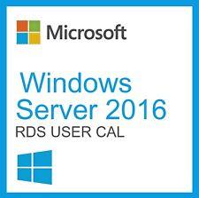 Windows Server 2016 RDS CAL 10 User License Key, Remote Desktop Services
