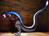 Best 6''H Godzilla Unpainted Garage Kit With LED Light Unassembled Model Statue
