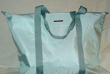Giorgio-Armani Luxury  Tote Bag  Azur Blue with Ziper