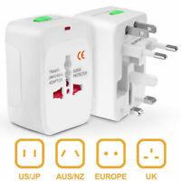 US to EU Europe Universal Travel AC Power Plug Adapter Charger Converter Socket
