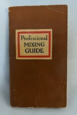 Vintage drink mixing guide, 1950 Usa printing-Angostura Edition-96 pages intact!