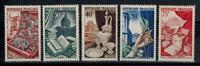 (a24)  timbres de France n° 970/974 neufs** année 1954