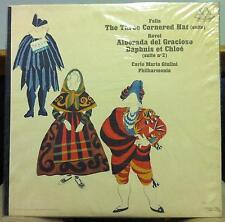 CARLO MARIA GIULINI falla & ravel LP Sealed ANG 35820 Vinyl 1962 Record