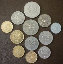 MOROCCO - 12 COINS - DATE RANGE 1921 TO 1980