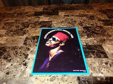 Stevie Wonder Rare Official 1974 Tour Book Program Fall Festival Tour Authentic