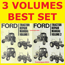 New listing Ford 2610 3610 4110 4610 5610 6610 6710 7610 7710 Tractor Service Manual Dvdfast