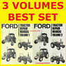 Ford 2610 3610 4110 4610 5610 6610 6710 7610 7710 Tractor Service Manual DVDFAST