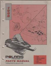 1988 POLARIS SNOWMOBILE 400 /650 SKS & CLASSIC  P/N 9911413 PARTS MANUAL (734)
