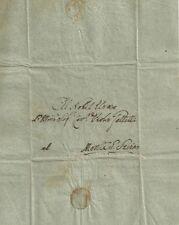 Lettera Prefilatelica da Sinalunga a Paolo Galletti di Monte S. Savino 1814