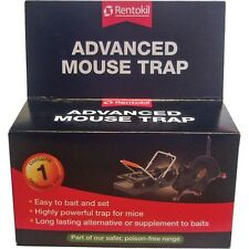 Rentokil Advanced Mouse Trap Mice/Rodent/Pest/Control/Snap/Powerful/Bait/NEW