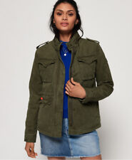 Superdry Womens Classic Winter Rookie Military Jacket