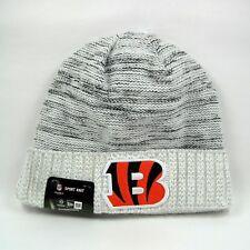 44f9335d7 New Era Men s NFL Cincinnati Bengals Team Colors Winter White Knit Beanie  Hat