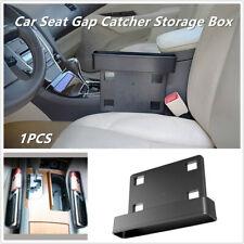 1x Universal Car Seat Gap Catcher Storage Box Organizer Coin Console Side Pocket