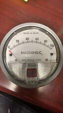 "Magnehelic Dwyer Differential Pressure Gauge, P/N 2100C, 0-100 1/8"" NPT"