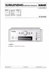 Grundig Service Manual für M 100-ADPL