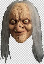 Witch Wanda Full Head with Hair Latex Mask Halloween Fancy Dress Adult