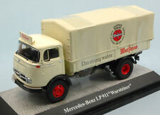 Mercedes LP911 WARSTEINER Truck with Removable Cover 1:43 Model