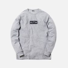 9532bd79 Kith Classic Logo L/S Tee Exclusive Monday Collection Large Heather Grey Box