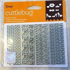 Cricut Cuttlebug Cut & Emboss Die Set All Girl Confetti 2003776 NEW