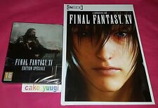 FINAL FANTASY XV EDITION SPECIALE STEELBOOK SONY PS4 100% FRANCAISE + ARTBOOK