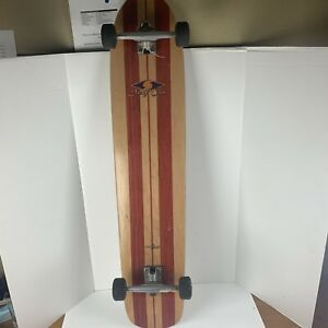 Robert August Surf One Authentic Longboard Skateboard Great Condition W/trucks