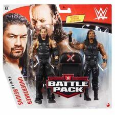 WWE Mattel Undertaker / Roman Reigns Battle Packs 66 Basic Figures