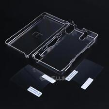 Hard Clear Skin Case Cover Shell with 2Film for Nintendo DSL NDS Lite NDSL