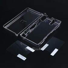Hard Clear Crystal Case Cover Skin Shell for Nintendo DSL NDS Lite NDSL + 2 Film