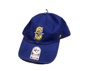 NWT New Seattle Mariners '47 Brand Franchise On Field Logo Small Fitted Hat