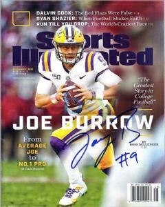 Joe Burrow LSU Tigers Signed 8x10 Photo reprint