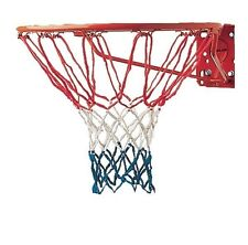 "New Champion Sports Basketball Replacement Net Red White & Blue 12 Loop 21"" Long"